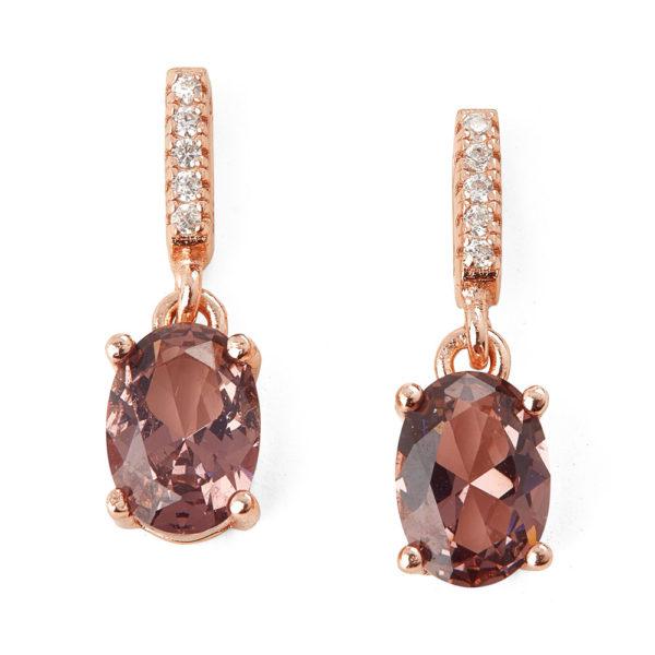 PENDIENTES PURPLE DIAMONDS